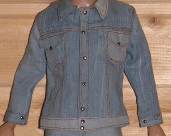 Denim jacket  for  Mett Robert Tonner.