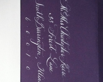 Calligraphy, Calligrapher, Addressing