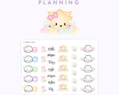 """Planner Girl Stickers - """"Planner Gaos"""" [Planner Stickers, Planner Girl, Washi Stickers] // The """"Planner Girl"""" Collection - S090"""