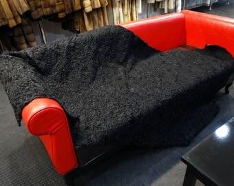 Silver Fox Fur Blanket, Fur Throws F782