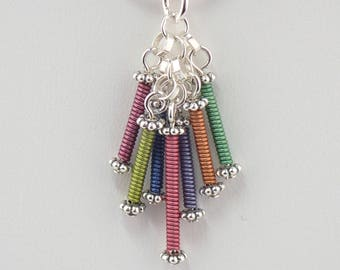 Wire Waterfall Necklace