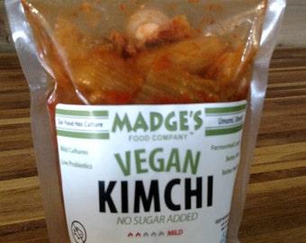 Vegan Kimchi & No-Sugar Added