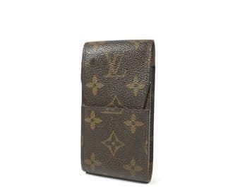 Authentic Louis Vuitton wallet. Louis Vuitton phone/cigarette case. Vintage Louis Vuitton monogram canvas case.