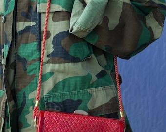Vintage Hard Case Crossbody Bag