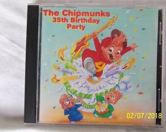 The Chipmunks 35th Birthday Party CD