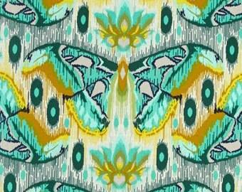Tula Pink; Eden; Atlas Saphhire; 1/2 yd. cotton woven fabric
