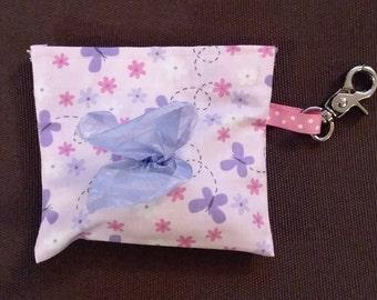 Butterfly Dog Waste Bag Holder