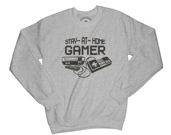 Gamer sweatshirt game sweatshirt old school sweatshirt motivation sweater graphic sweatshirt aesthetic sweatshirt hipster sweatshirt   APV19