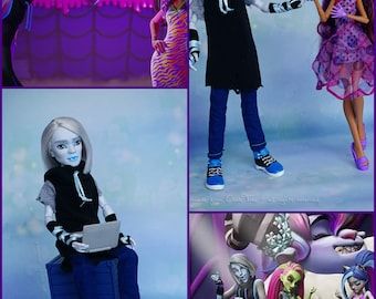 Pre-ORDER Rathye - Welcome to Monster High NEW Character - Monster After High custom doll OOAK