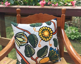 "Marimekko Tiara Pillow Cover Only 18""x18"" 