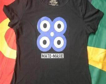 Women's Fit Mate Masie Black Shirt