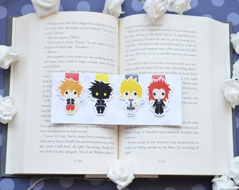 Kingdom hearts magnetic bookmarks