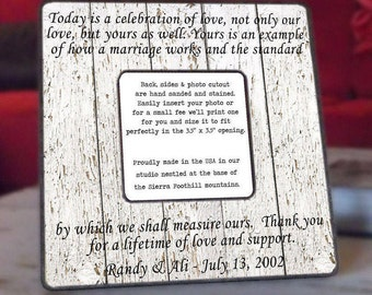 Rehearsal Gifts, Parents Wedding Gift, Grooms Parents Gift, Groom, Bride, Frame, Mother In Law, Parents of the Bride, Parents of the Groom