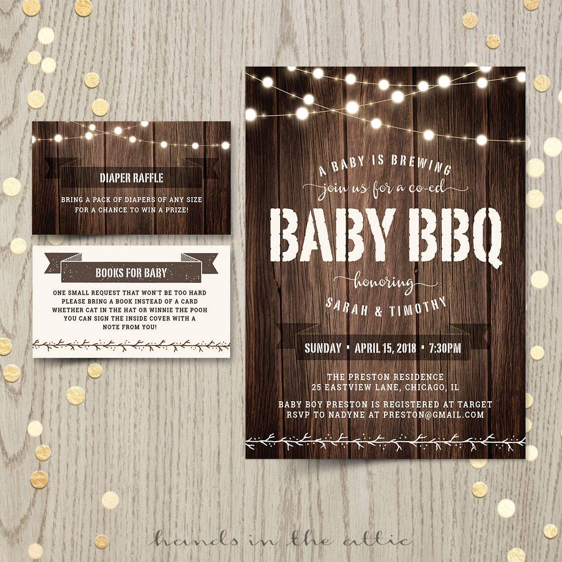 baby bbq shower backyard baby q couples co ed baby shower