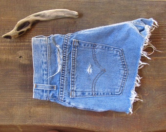 Vintage Distressed Levis Shorts