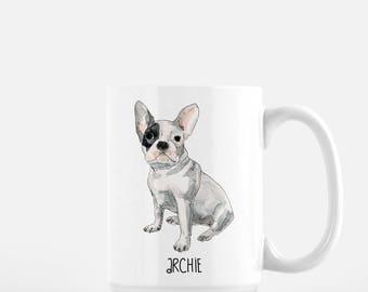 Custom Pet Portrait Coffee Mug. Personalised Mug. Dog Lover. Gift. Gift for pet lover.Dog Lover Gift. Custom mug. Personalised mug