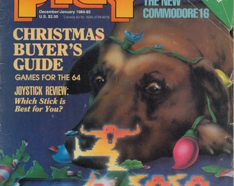 Commodore Power Play Magazine Dec Jan 1984 1985 Good Reader Copy