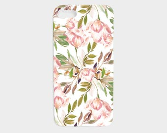 iPhone 7 Case - iPhone 6 Case - Floral iPhone Case - Modern Flowers iPhone 5 Case - Samsung Galaxy S5 Case - The Mad Case