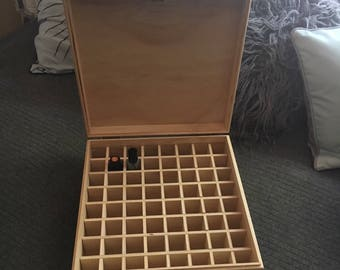 Essential Oil Box 64 slots TALL