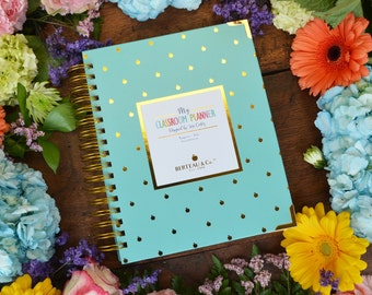 My Classroom Planner - Turquoise Cover