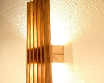 solid wood Wall Sconce