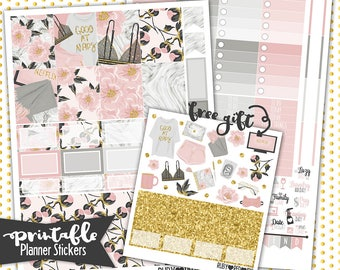 50% Off Summer Sale!Erin Condren | Staycation PRINTABLE planner stickers | Pdf, Jpg, Png | Instant Download