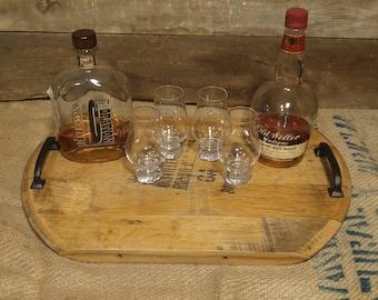 Bourbon Cave Bourbon Barrel Tray