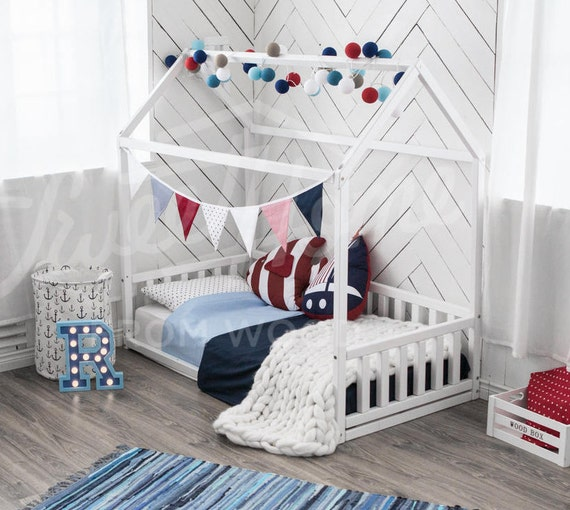 Like this item? & Children bed toddler bed house bed kids teepee wood house