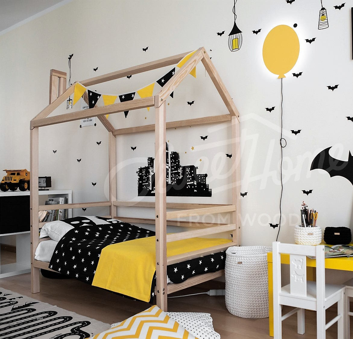 Toddler Bed Twinf Or King SINGLE Size House Bed Children