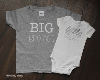 Big Brother Little Sister Tee Set