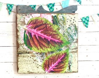Tropical Leaf Wall Art