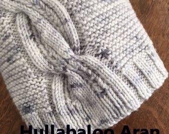 Truly Myrtle Aran Hand Dyed Hullabaloo 10 ply Australian Superwash Merino Knitting Yarn 300g kit