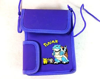 Pokemon Blue Gameboy Color Carrying Case