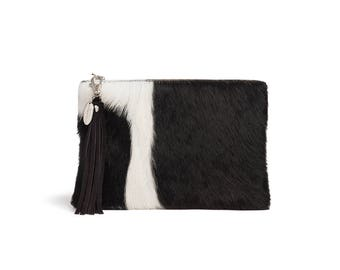 Black Cowhide Bag | Exact One you Will Receive | Made in England
