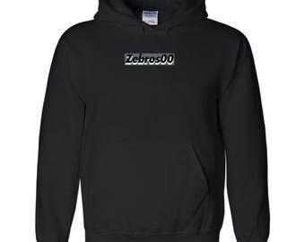 Zebros00 Black 3D Sweatshirt