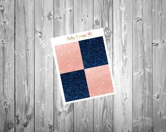New Beginnings Glitter Headers  | Erin Condren Life Planner Stickers | Happy Planner | Erin Condren Vertical |