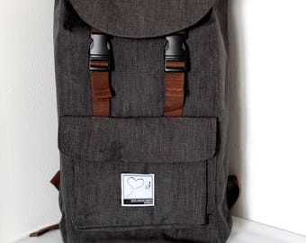 Backpack two colors Gian Marco Amato vintage.