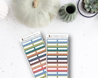 FULL-ON FALL Habit Trackers (20 Planner Stickers) || SeattleKangarooPlans