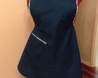 1940s style retro apron