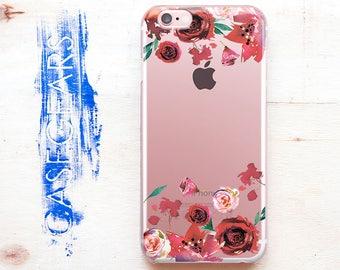 iPhone X Case Samsung Note 8 Case Flower iPhone 6 Case Floral iPhone 6s Case Floral Phone Case Floral Flower Galaxy S6 S7 Edge Case CG1612