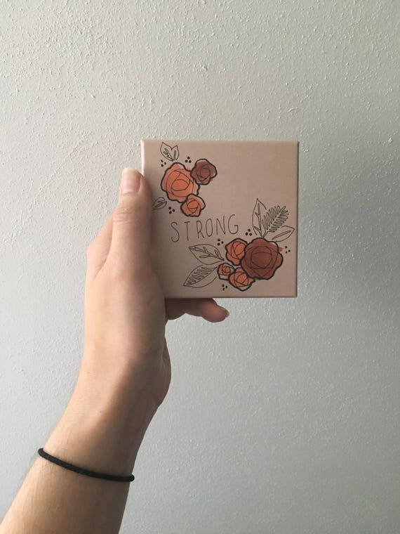 Customized Gift Box // Hand drawn / Surprise Design