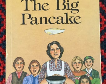 Vintage Ladybird Book- The Big Pancake
