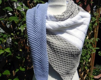 knitted shawl scarf cotton scarf