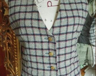 Vintage Wool 1970's Vest