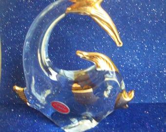Murano Glass Fish Figurine