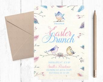 Easter Brunch Invitations, Easter Brunch Invitation, Easter Brunch Invites, Easter Brunch Invite, Easter Brunch themed, Easter Brunch,