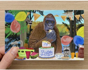 Party Crashers Birthday Card 10 pack
