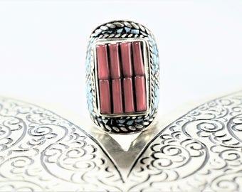 Ring boho ethnic, Tibetan jewelry, handmade navajo boho style
