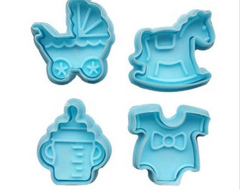 Baby shower, baby shower cake cutters,Baby fondant cupcake toppers,baby cookie cutters,baby, baby shower,new baby, baby cake,baby cupcake