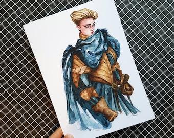 Brienne of Tarth / PRINT A5